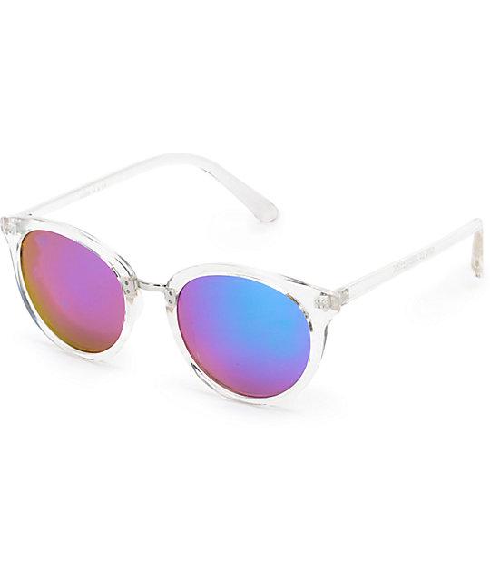 5eb4c6ece97 Marley Clear Blue Mirror Lens Sunglasses