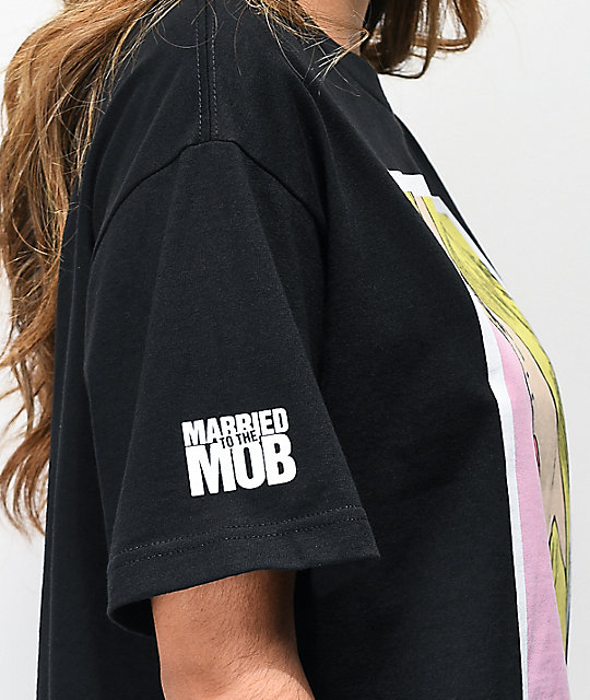 Married To The Mob Annoying Black T-Shirt