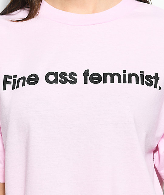 Married To The Mob Feminist camiseta rosa