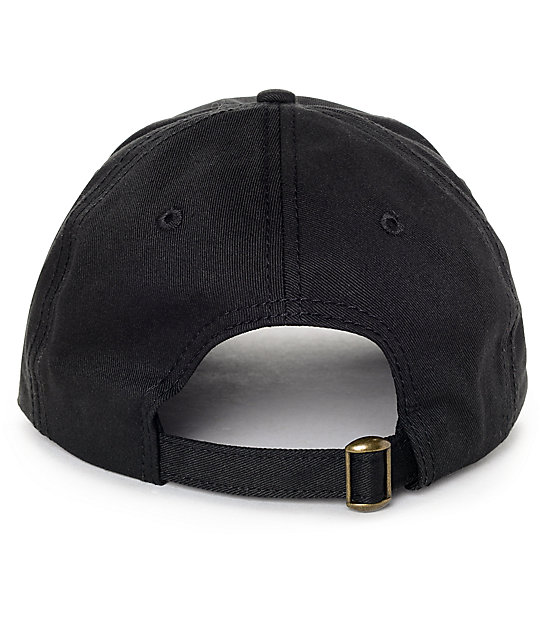 3f737b15 Married To The Mob Good Luck Bitch Black Baseball Hat | Zumiez