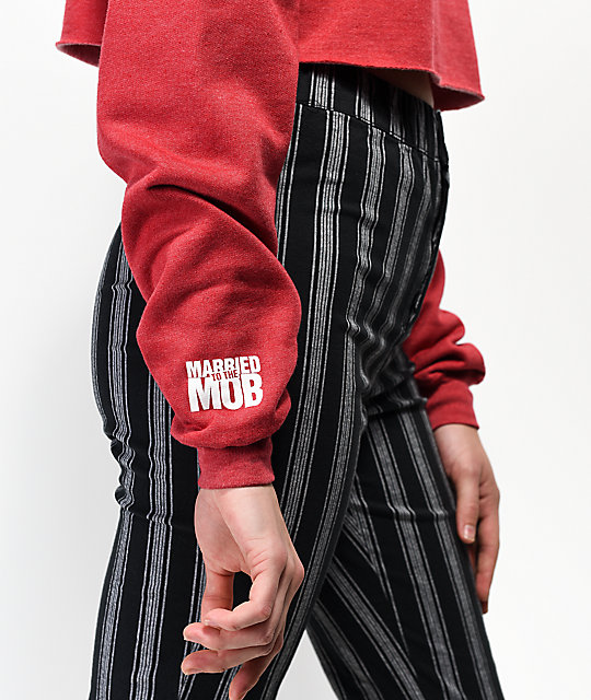 Married To The Mob Hard Feelings sudadera con capucha roja