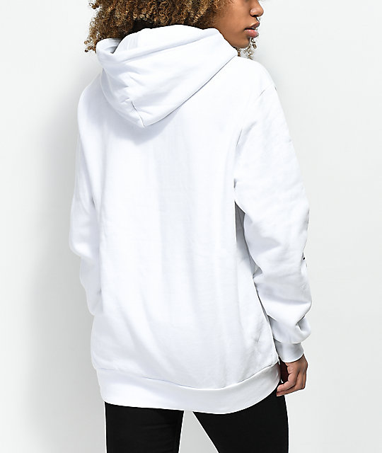 Married To The Mob Rose White Hoodie