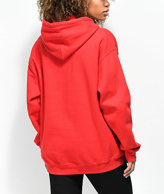 Married To The Mob Rose sudadera roja con capucha