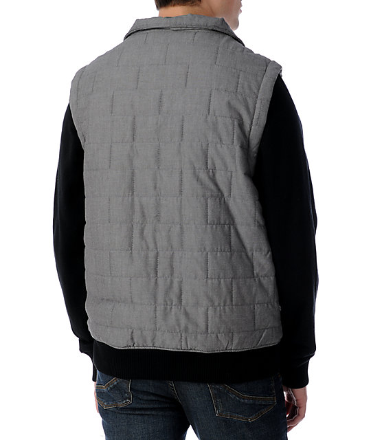 Matix Asher Intel Black Vest Fleece