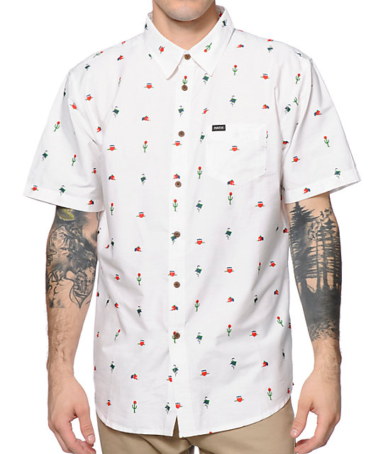 vans flamingo shirt