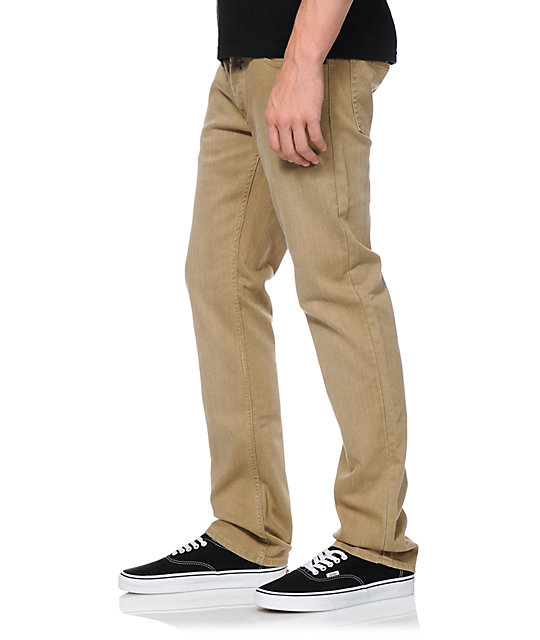 Matix Gripper Buckwheat Slim Fit Denim Pants