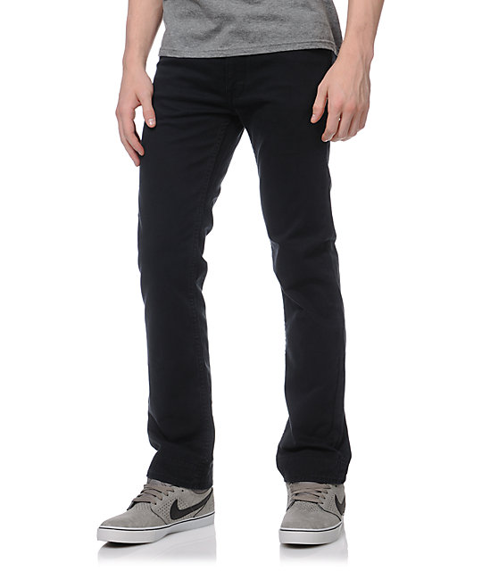 Matix Manderson Black Chino Regular Fit Pants