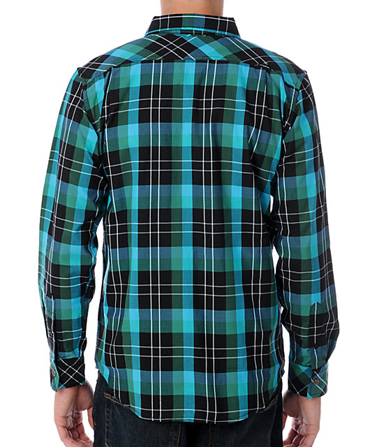 Matix Marc Johnson Everest Green Woven Shirt