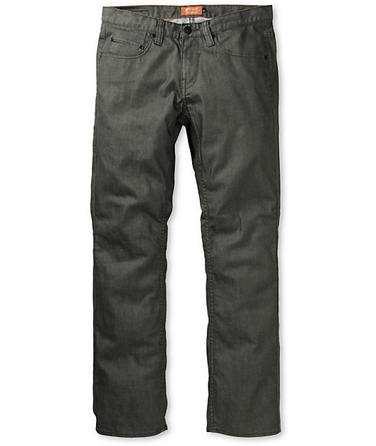 Matix Marc Johnson Tri-Blend Dark Green Slim Jeans