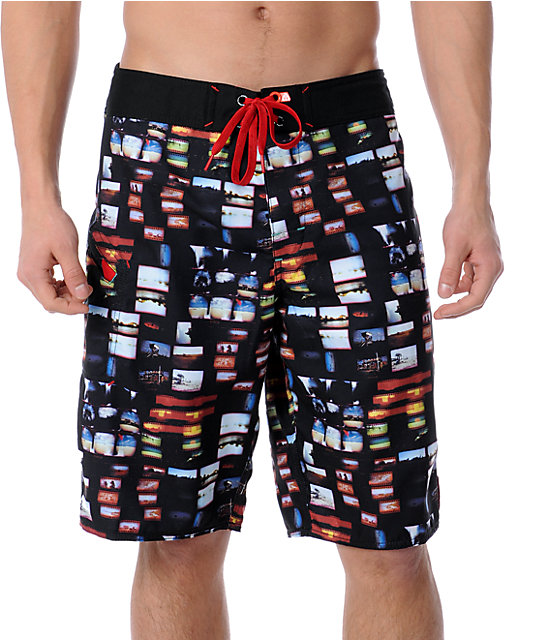 Matix Miller 22 Black Board Shorts
