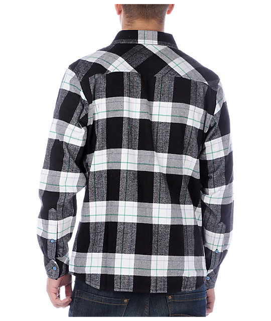 Matix Mofresh White Flannel Shirt