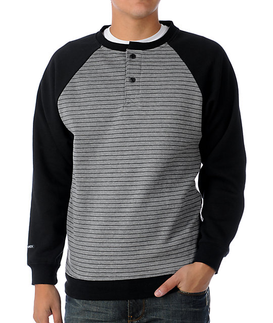 Matix Stadium Grey Crew Neck Sweatshirt