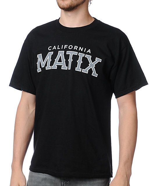 Matix Triple A Black T-Shirt