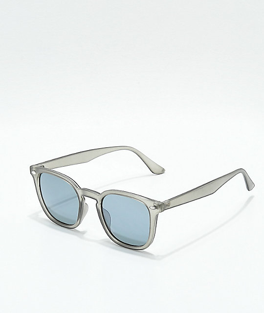 Matte Crystal Grey Sunglasses