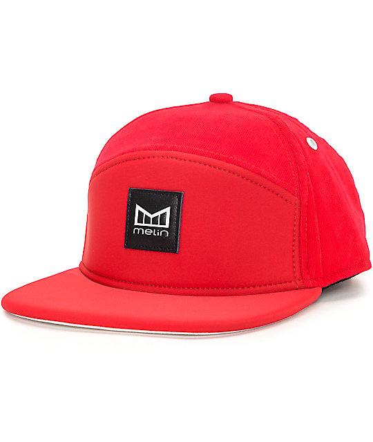 45eb4a42f6a Melin Baywatch Red Snapback Hat