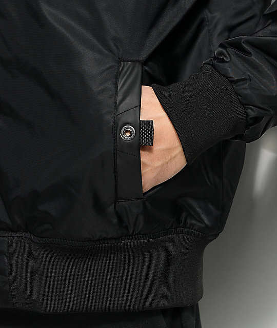 Members Only Deftone Black Bomber Jacket