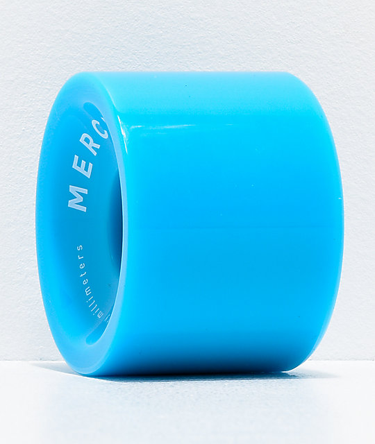 Mercer Blue 70mm 78a Longboard Wheels