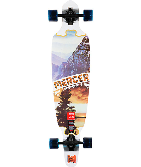 "Mercer Levity 41""  Drop Through Longboard Complete"