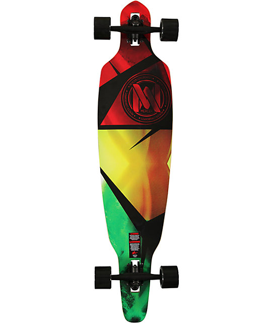 "Mercer Movement 41""  Drop Through Longboard Complete"