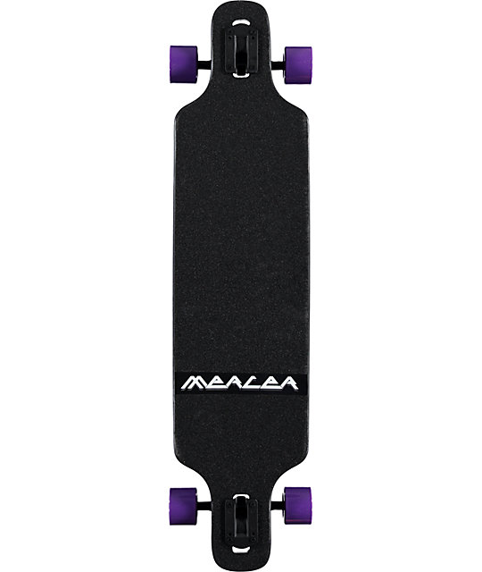 "Mercer Mystic Wolf 40""  Drop Through Longboard Complete"