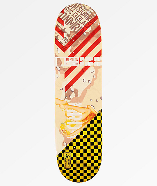 "Meridian Skateboards Bomber Series Legs 8.25"" Skateboard Deck"