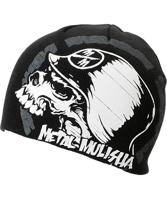 Metal Mulisha Backflip Black Beanie