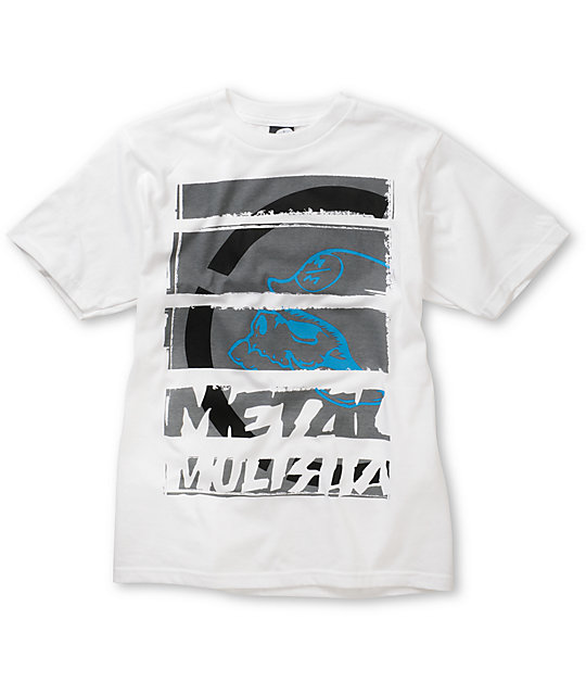 Metal Mulisha Boys Strategic White T-Shirt