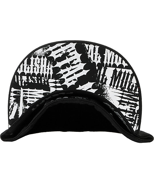 Metal Mulisha Brave Black Flexfit Hat
