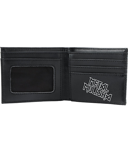 Metal Mulisha Clad Black Bifold Wallet