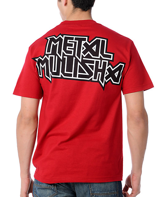 Metal Mulisha Clad Red T-Shirt