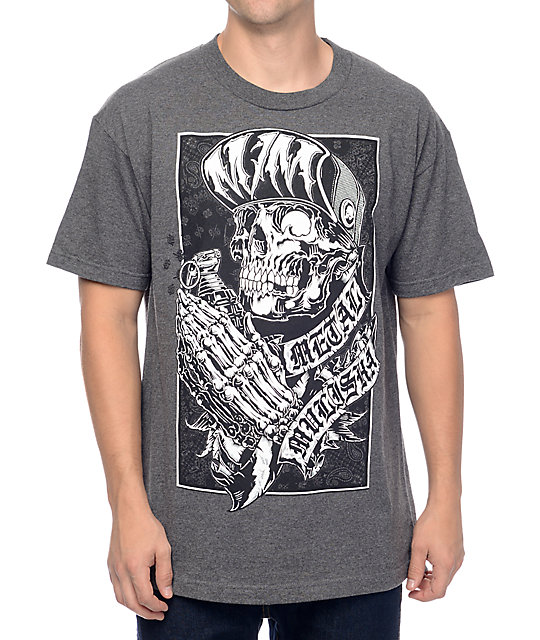 Metal Mulisha Corner Grey T-Shirt ...