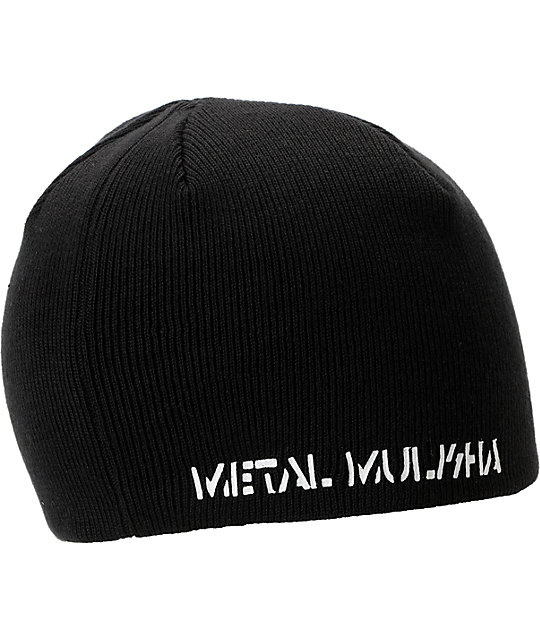 Metal Mulisha Decay Black Beanie