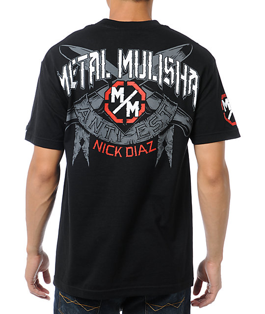 Metal Mulisha Diaz Blades Black T-Shirt