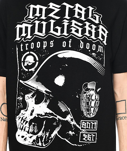 Metal Mulisha Doom Black T-Shirt
