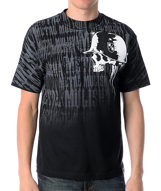 Metal Mulisha Downfall Black T-Shirt