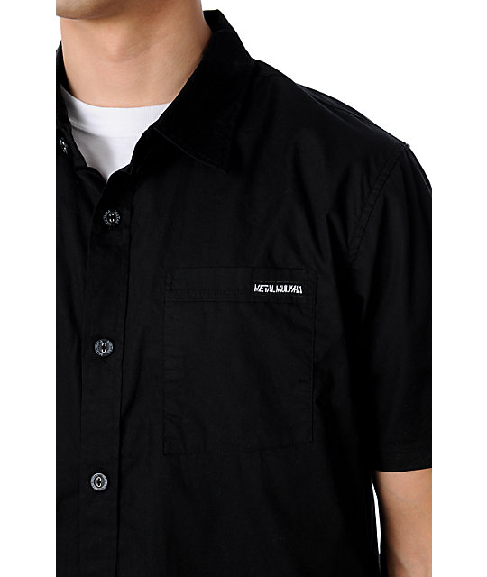 Metal Mulisha Easy Black Woven Shirt