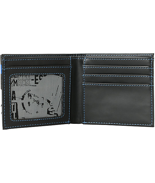 Metal Mulisha Faultline Black Bifold Wallet