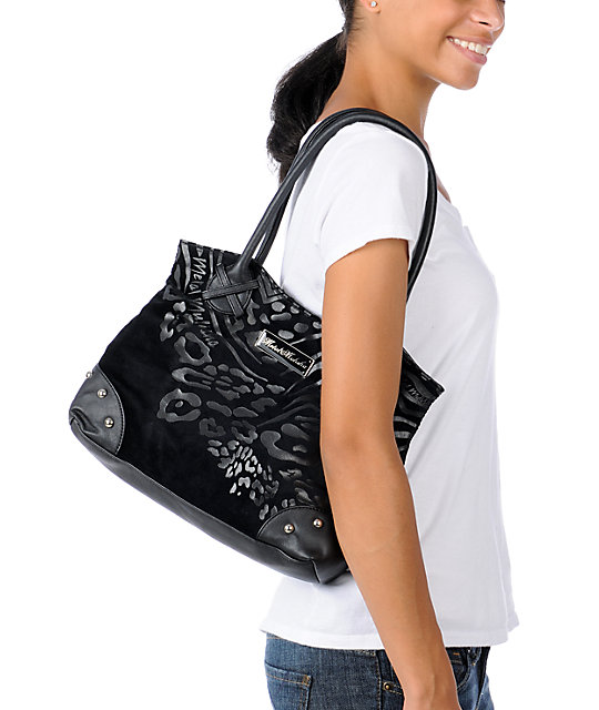 Metal Mulisha Feline Black Purse