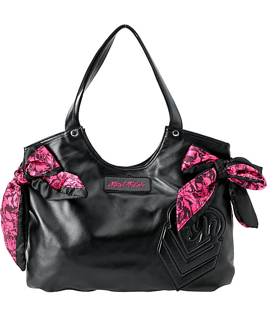 Metal Mulisha Hello Lover Black Purse