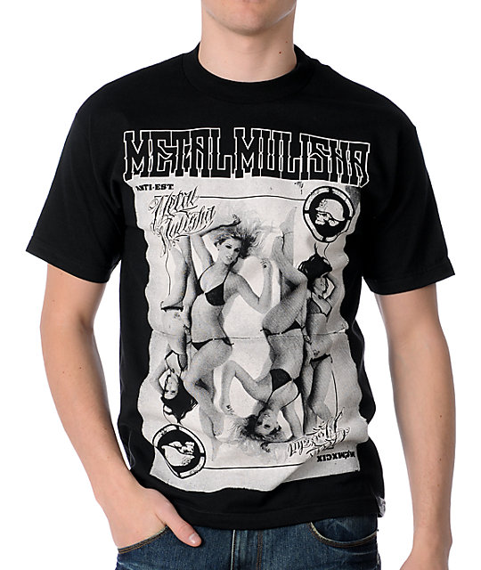 Metal Mulisha Hold Em Black T-Shirt