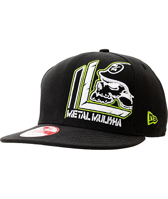 New Metal Mulisha Compact Snapback Hat Cap Flat Brim