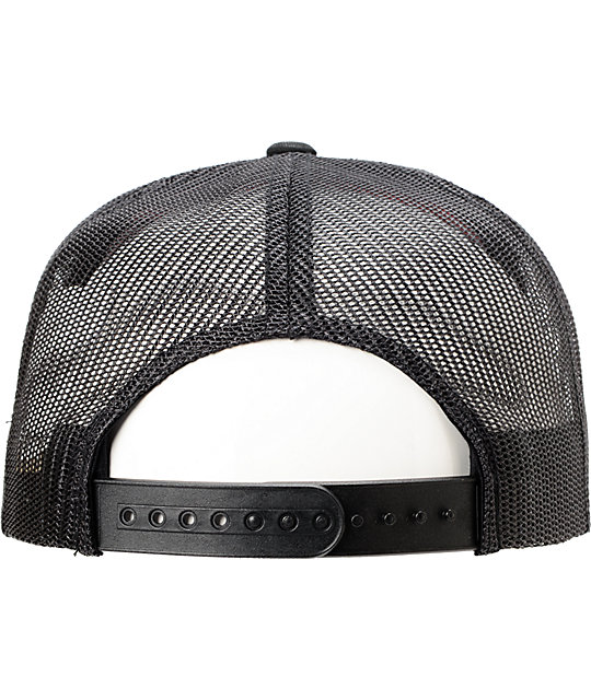 Metal Mulisha Licious Black Trucker Hat