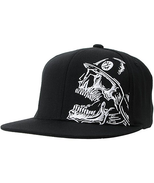 Metal Mulisha Louder Black Flexfit Hat  81d381b0fd1