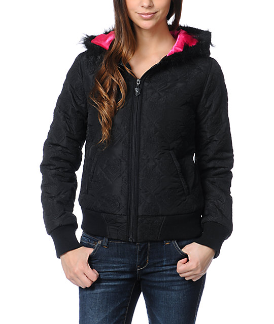 Metal Mulisha Luscious Black Jacket