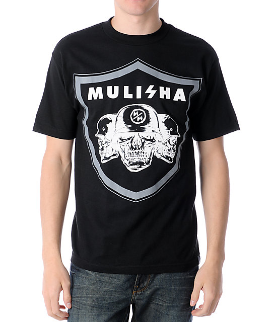 Metal Mulisha MM Nation Black T-Shirt