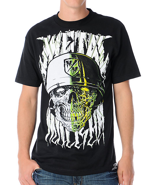Metal Mulisha Mens Maimed Black T-Shirt