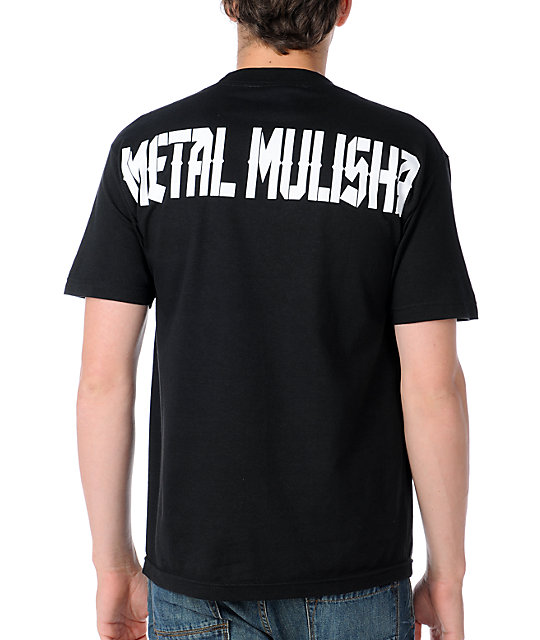 Metal Mulisha Mens Octagon Black T-Shirt