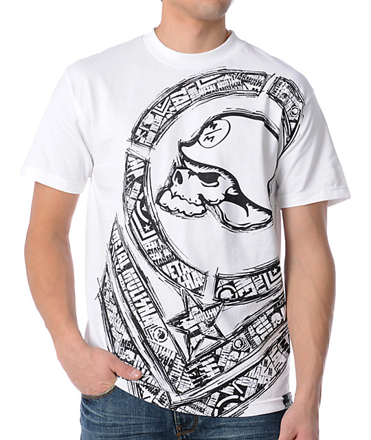 Metal Mulisha Mens Restock White T-Shirt