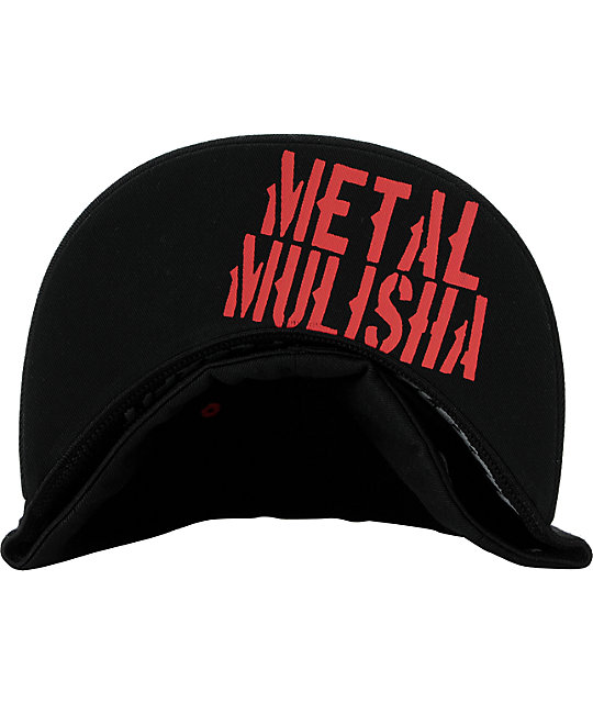 Metal Mulisha Perimeter Black Flexfit Hat