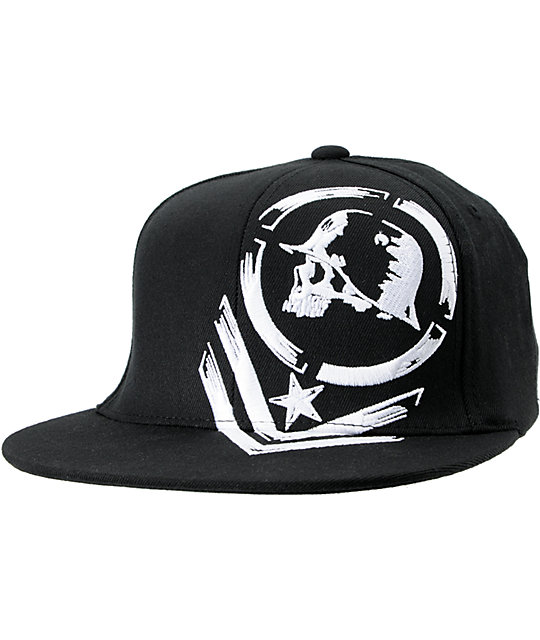 Metal Mulisha Raw Black Flexfit Hat